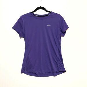 Nike Dri Fit T-shirt Purple Size Large